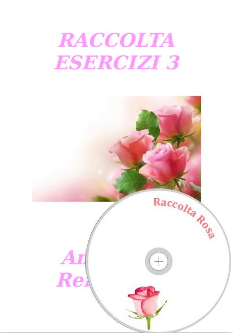 Raccolta Esercizi III